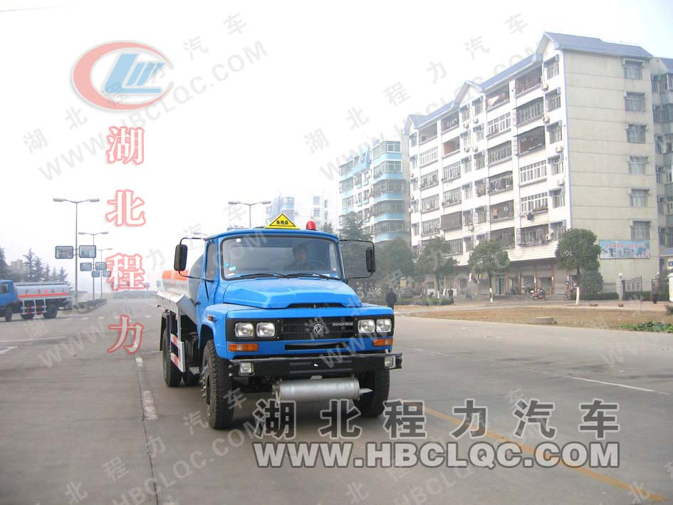 camion citerne petrolier 0096湖北... 东风140油罐车